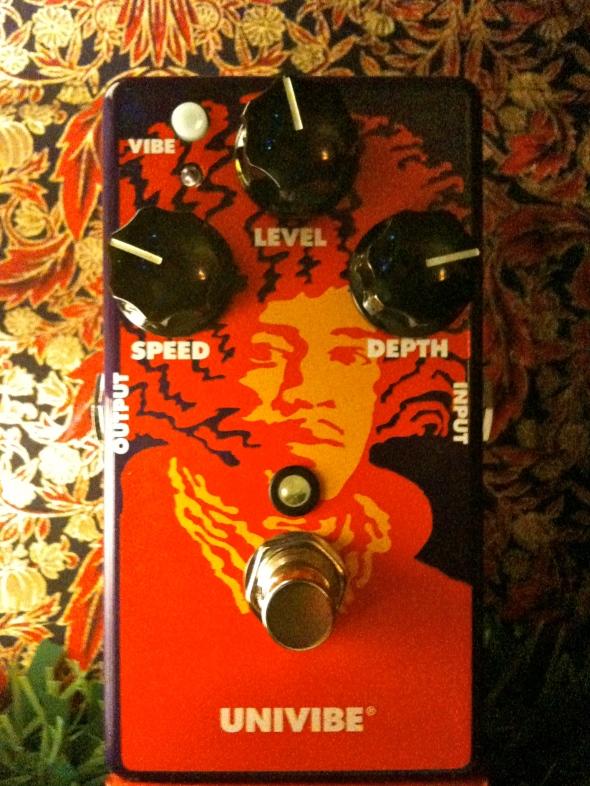 MXR JHM3 Jimi Hendrix 70th Anniversary Univibe